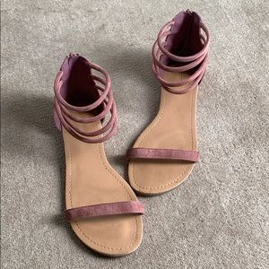 Ankle strappy sandals